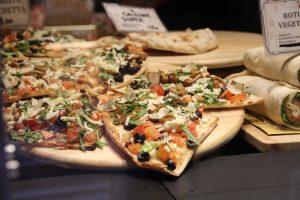 Pizza à Venise en Italie