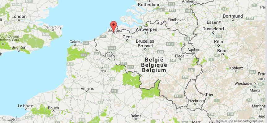Bruges map 2