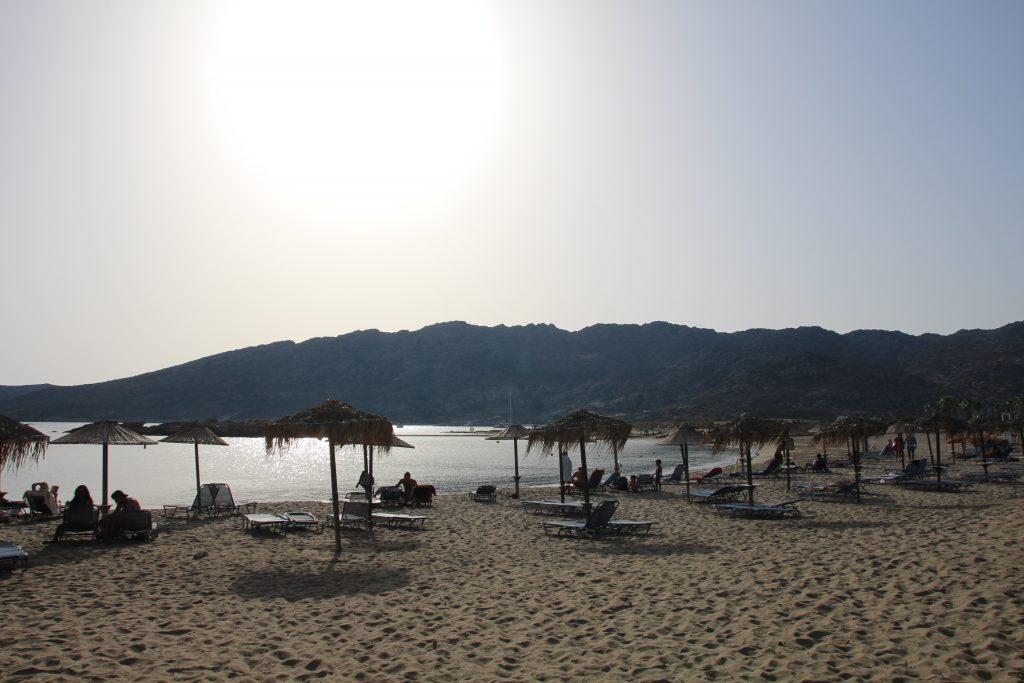 Coucher de soleil sur Manganaris