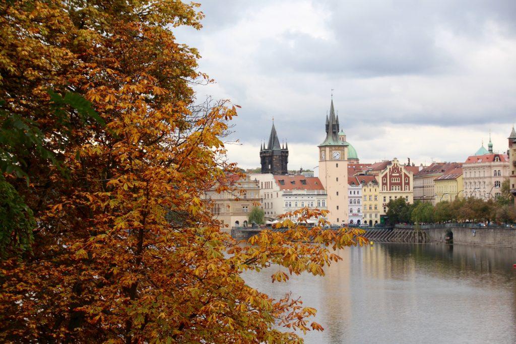 Prague en automne