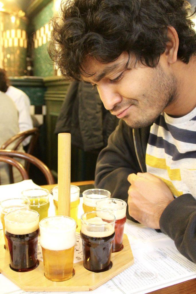 Dégustation de bières tchèques