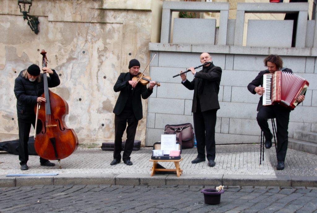 Concert devant le Chateau de Prague