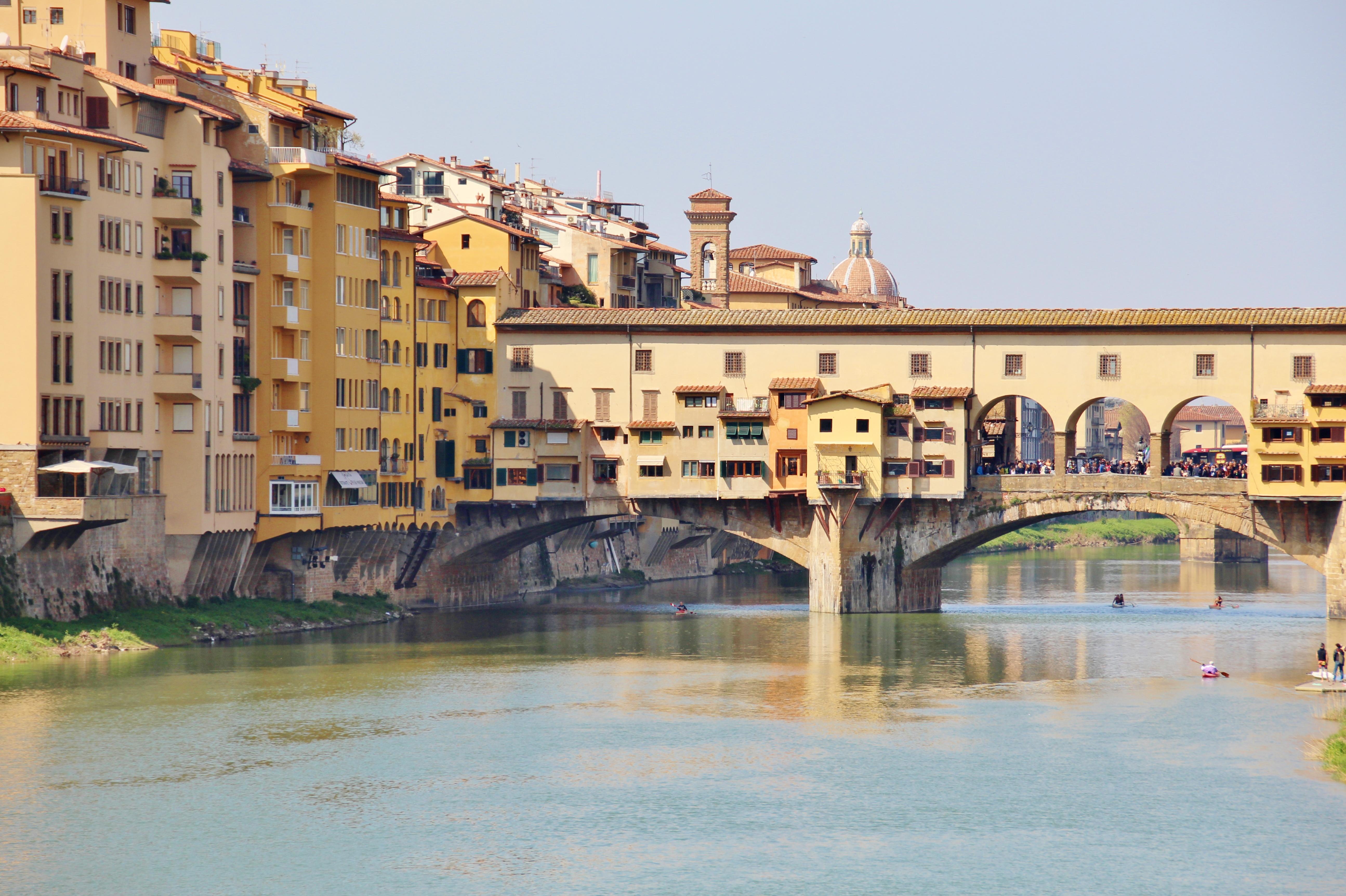 Ponte Vecchio - Weekend à Florence