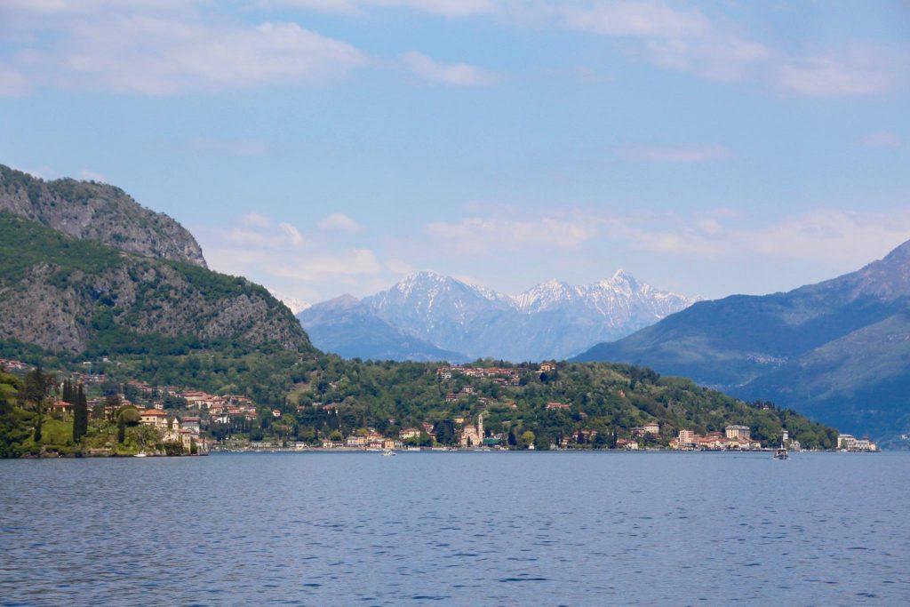Vue sur Lenno - Lac de Côme en mai