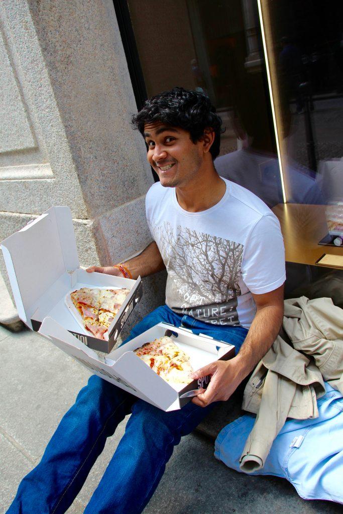 Pizza à Milan en Italie - Découvertes culinaires