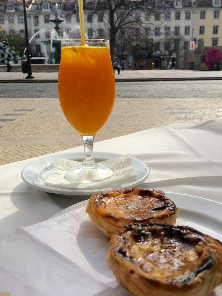 Pasteis de Natas à Lisbonne au Portugal