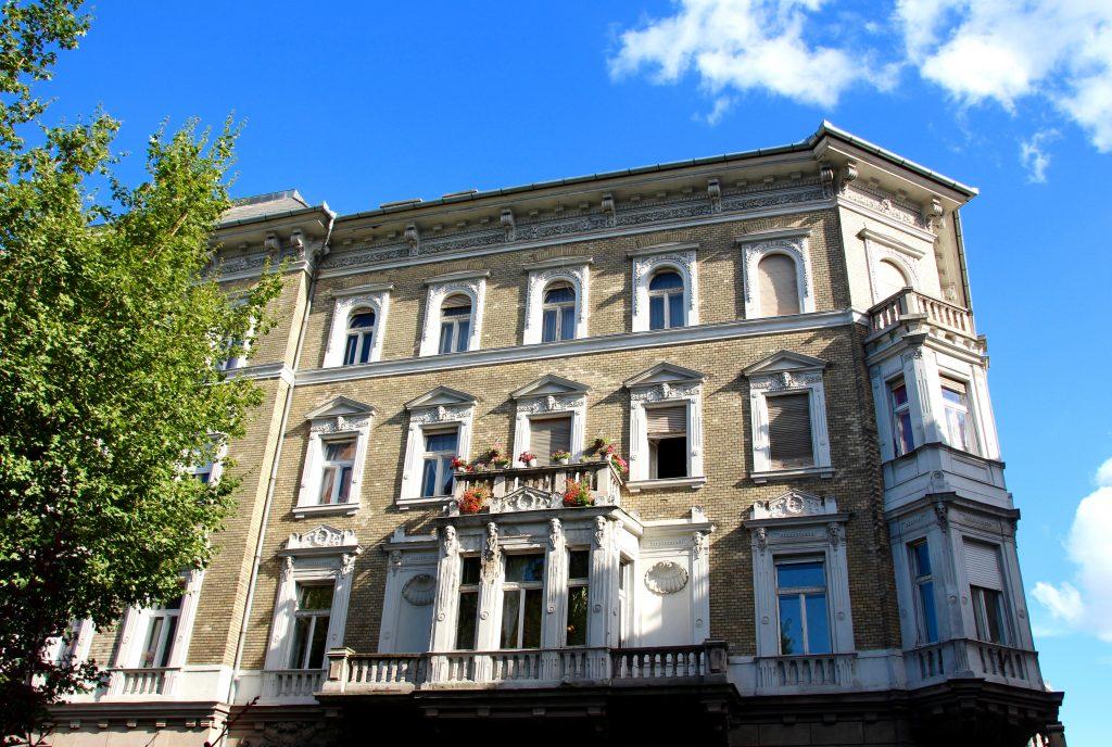 Rue de Pest - Budapest en juillet