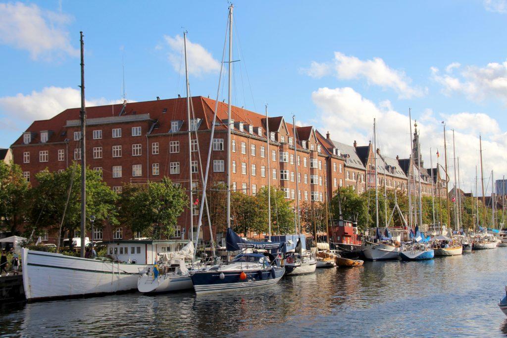 Près du canal du Nyhavn