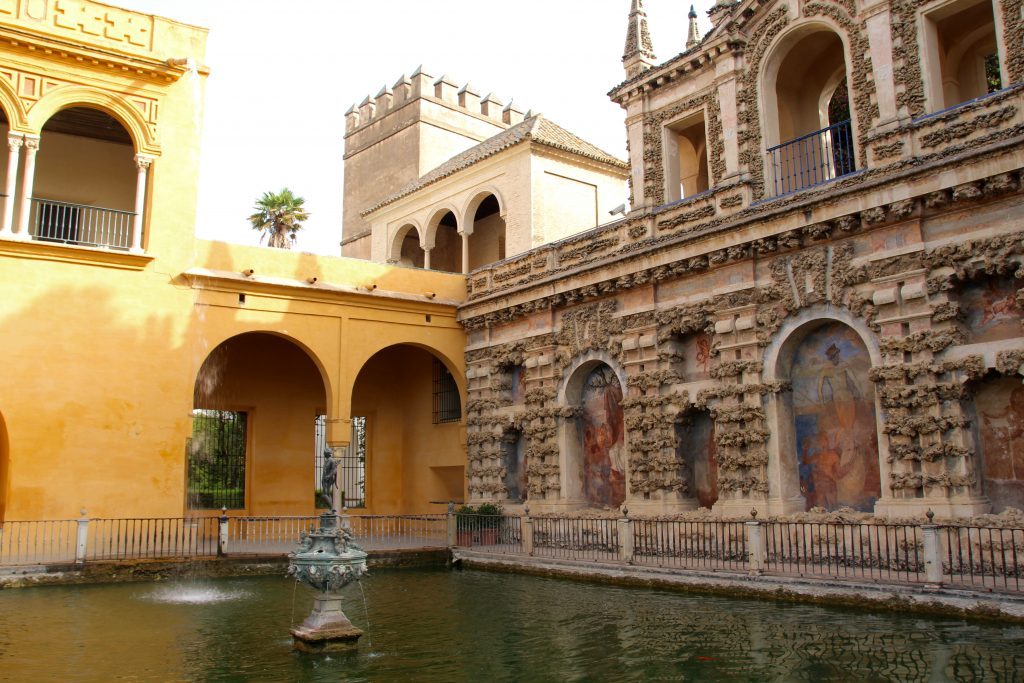 Fontaine de l'Alcazar
