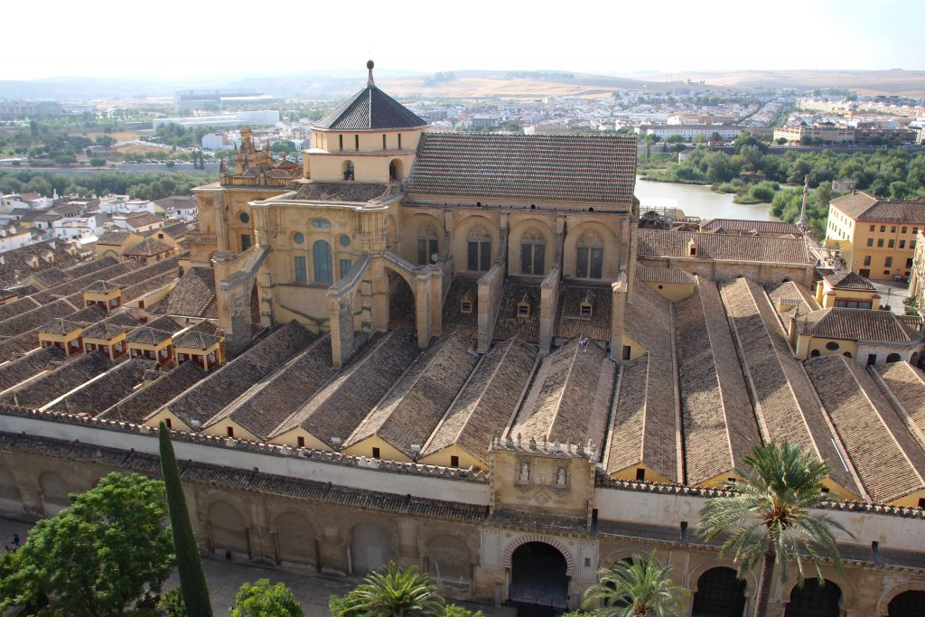 Cathédrale Mezquita vue de la Giralda