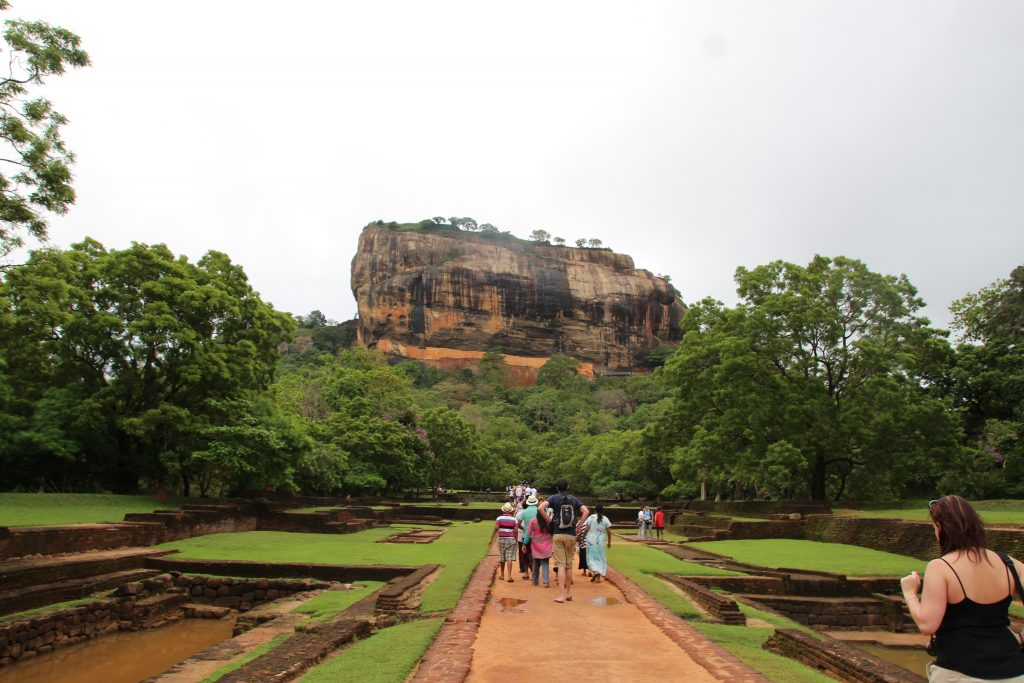 Rocher du lion- Sigiriya