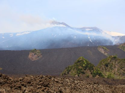 Etna en éruption