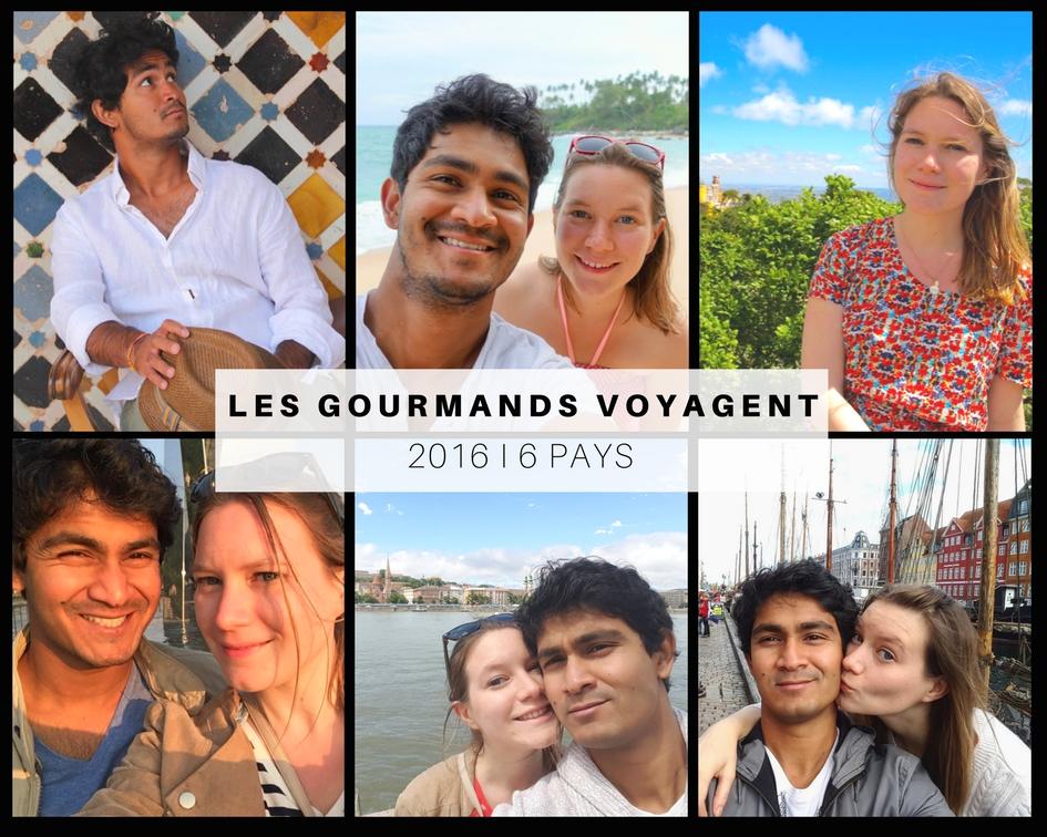 Les Gourmands voyagent en 2016