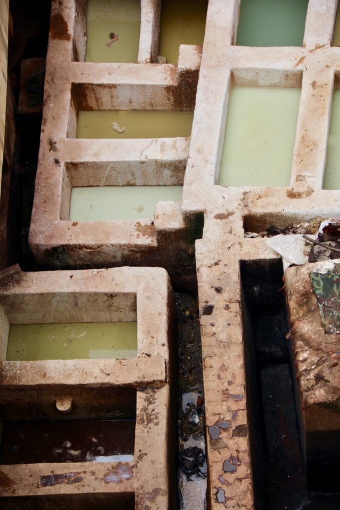 Tanneries Chouara - Fès