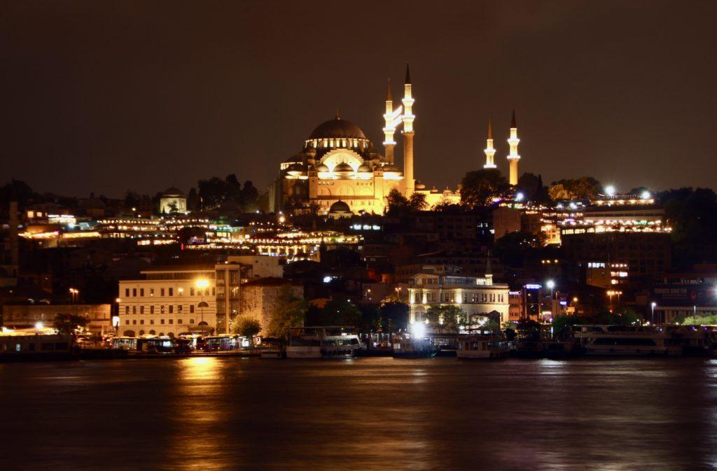 Istanbul en 4 jours : basilique sainte sophie de nuit